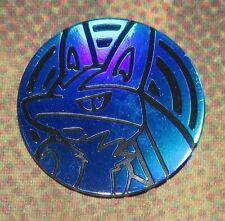 Lucario BLUE Collector Coin OFFICIAL Pokemon 2017 NEAR MINT