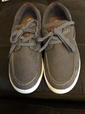 Sonoma Boys Boat Shoes Gray Size 5