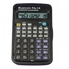 Busicom 10 digit Mini Pocket Scientific Calculator School Business Office FM-15