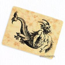 Merman Satyr Deco Magnet, Decorative Fridge Mythical Monster Oddity Gift