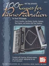 Mel Bay's 100 Tunes for Piano Accordion Sheet Music Book by David DiGiuseppe