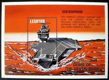 1999 MNH LESOTHO SHIPS STAMPS SOUVENIR SHEET MILLENNIUM GEMS 7 SEAS ENTERPRISE