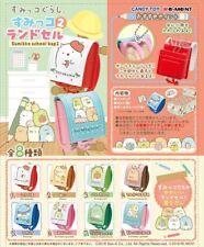 Re-Ment Miniature Japan Sumikko Gurashi School Bag Part 2 Full set of 8 pieces