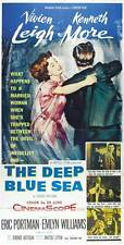 THE DEEP BLUE SEA Movie POSTER 20x40 Vivien Leigh Kenneth More Eric Portman