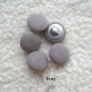 Cotton fabric covered Dome Metal Buttons coat sweater 20pcs/lot 18/20/23/25/28mm