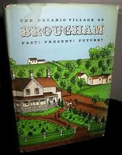 Ontario Village Brougham - Robert Miller HCDJ 407 Pages Signed Good Cond.1st1973