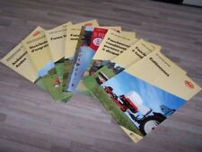 Lot de 8 Prospectus/Brochure/Prospekt agricoles/tracteurs VICON (522)