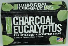 Shape Sugar Charcoal Eucalyptus Plant Based Scented Soap Sulfate & Paraben Free