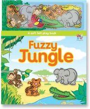 Fuzzy Jungle (Soft Felt Play Books)-Nat Lambert,Barrie Green