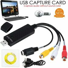 More details for hot sale easycap usb 2.0 video audio vhs to dvd converter capture card adapter