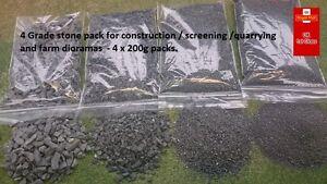 Construction Stones 4 Pack 1:50 Screening Quarry Diorama