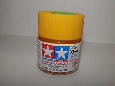 Tamiya Color Acrylic Paint Mini Flat Yellow #XF-3 (10ml) NEW