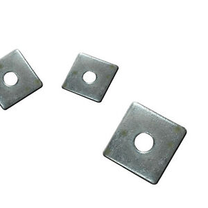 Stainless Steel SQUARE PLATE or ROUND Washers PLUS Various Grade, Size Options