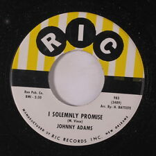 JOHNNY ADAMS: I Solemly Promise / Life Is Just A Struggle 45 Soul