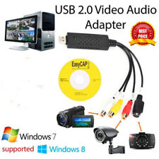 USB2.0 Audio Video VHS to TV Tuner DVD PC Converter Capture Card Adapter 2018