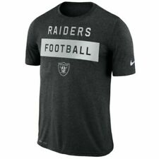 Oakland Raiders Nike Dri-fit NFL Legend Lift L Athletic Cut T-shirt