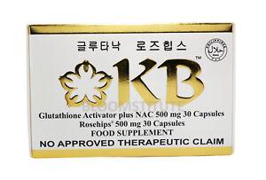 KB KYUSOKU BIHAKU GLUTATHIONE SKIN WHITENING CAPSULES AUTHORIZED DISTRIBUTOR