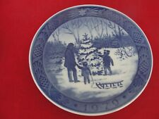 1979 ROYAL COPENHAGEN CHRISTMAS  PLATE CHOOSING TREE