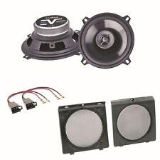 Axton AE502F 2 Wege Lautsprecher Boxen System Einbauset für Golf 2 Türen vorne