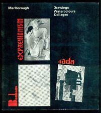 Drawings Watercolours Collages. Expressionism Bauhaus Dada. Marlborough 1966