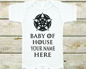 Growing Strong Inspired Baby Bodysuit House... Customize it!