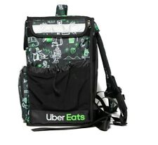 Uber Eats Limited Edition Artist (Sophia) Insulated Backpack Food Bag