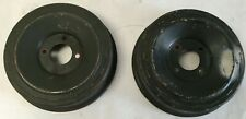 Military Jeep M422 Mighty Mite Brake Drums, Sold as a pair N.O.S