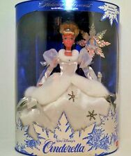 1996 Disney Holiday Princess Cinderella doll & Ornament 1st in Series Nrfb