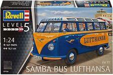 Revell Reve07436 HC - VW T1 Samba Bus Lufthansa 1/24