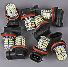 8x Super Bright H11 White 85-SMD LED Daytime Fog Day Driving Running Light Lamp