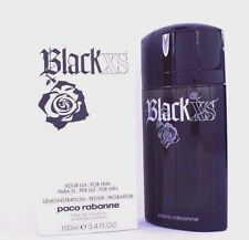 XS Black by PACO RABANNE Excess 3.3 oz / 3.4 oz edt Cologne tester