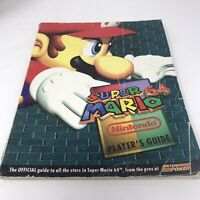 Super Mario 64 Player's Guide Nintendo 64 Power Strategy Guide Vintage N64