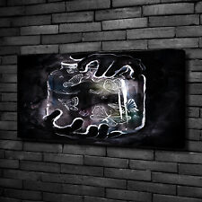 Leinwandbild Kunst-Druck 100x50 Bilder Kunst Schmetterlinge Glas