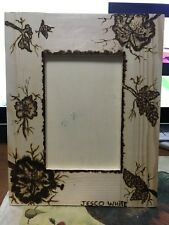 Jesco White  Wood Burned Picture Frame