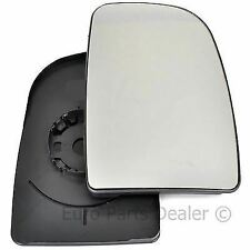 Driver side Clip Convex wing mirror glass for Peugeot Boxer 06-20