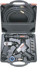Mechanics Air Tool Kit 10PC Set Craftsman Auto Repair Hammer Wrench Ratchet Hose