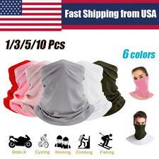 Balaclava Neck Tube Scarf Bandana Face Cover Mask Neck Gaiter Headwear Outdoor