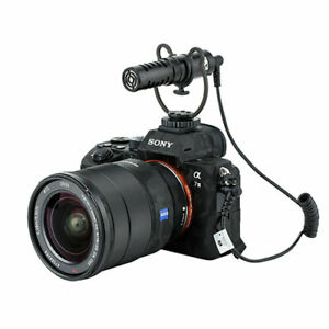 KM-VL1S Cardioid Microphone For Sony RX100 RX10 RX1R A6600 A6100 A6400 A6500 A7R