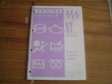 MANUEL DE REPARATION DIAGNOSTIQUE RENAULT ESPACE N.T. 3619A INJECTION ESSENCE