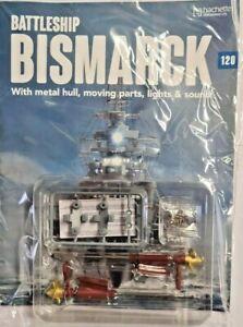 BUILD BRING THE BISMARCK TO LIFE PARTWORK DIECAST METAL SCALE 1: 200 = # 120