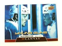 2020-21 UD Series 1 Nick Robertson Canvas Young Guns RC - Toronto Maple Leafs