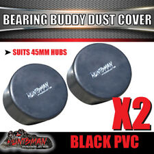 x2 Bearing Buddy Protector Dust Cover rubber Cap Only suit 45mm Bearing Buddy