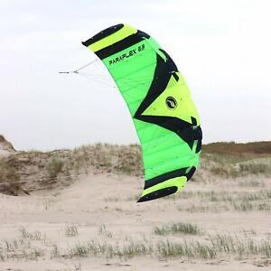 Paraflex Sport 2.3 Grün Lenkmatte Wolkestürmer Lenkdrachen Kite Drachen