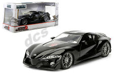 Jada Jdm Tuner Import Toyota Ft-1 Concept Black 1/24 Diecast Car 98687 New