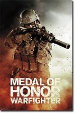 2012 MEDAL OF HONOR WARFIGHTER VIDEO GAME POSTER #5473 22x34 FREE SHIPPING