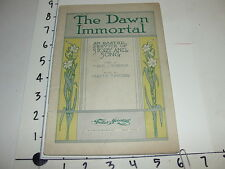 The Dawn Immortal - An Easter Service of Story & Song 1914 / Mabel Rosemon HTF