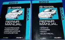 2003 TOYOTA CELICA Service Repair Shop Workshop Manual Set NEW