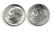 1950-D  -  Roosevelt Dime  -  90% Silver  -  BU/UNC
