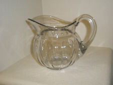 "ANTIQUE Heisey Glass Pitcher 2 Quart 7"" Tall"