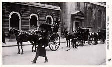 London Life. A Cabman on the Rank by Tuck # A 18.